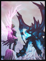 The Dragon and the Hero by DavidStrife
