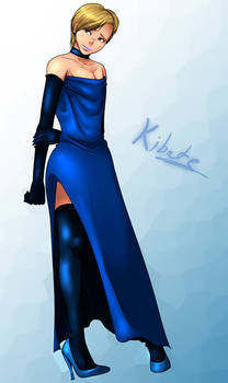 Kibate-chan - Evening gown