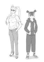 OPM - Casual Twintails and ShadowRing
