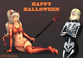 Manga: D-Coin Halloween special