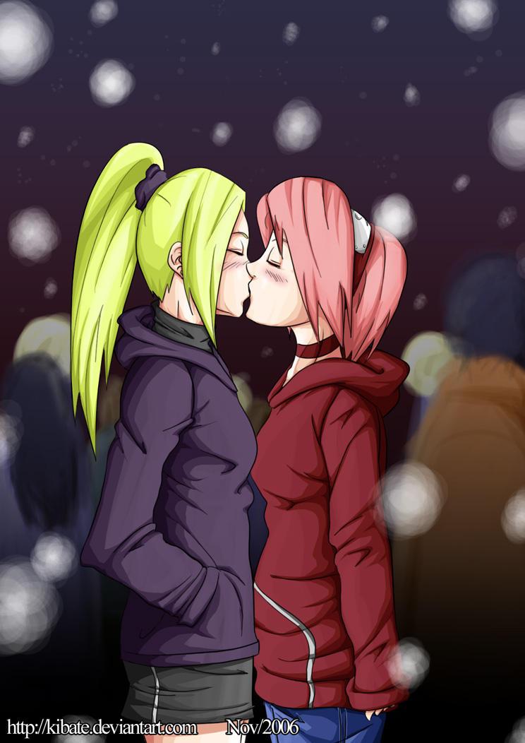 Naruto - Inosaku - snow by Kibate