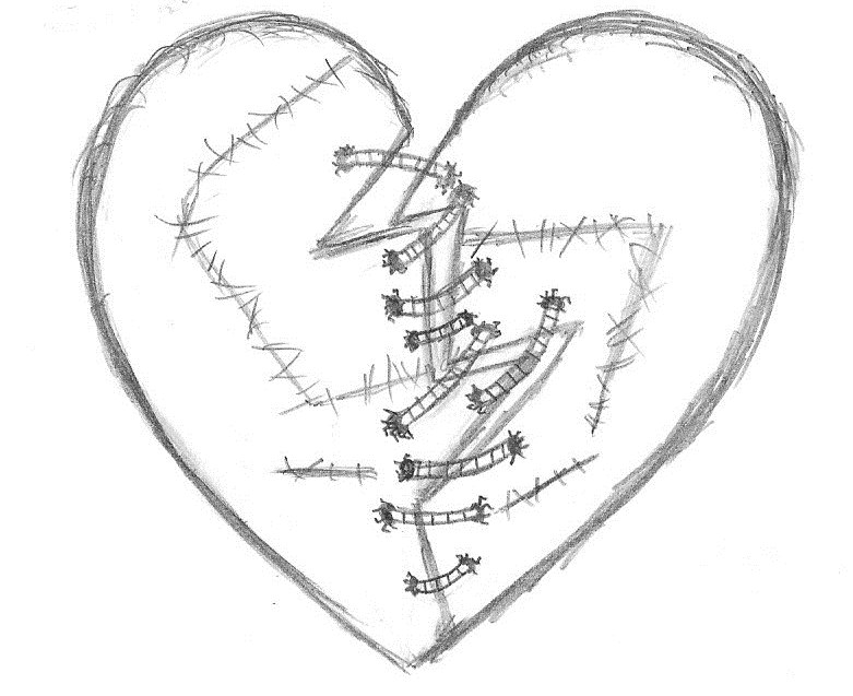 Image Result For Tattoo Black And White Hearta