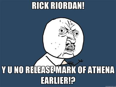 RICK RIORDAN! Y U NO! by pjohootkc