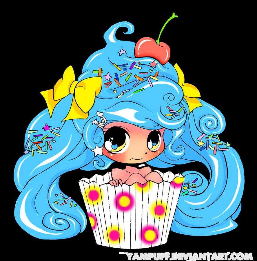 Cupcake Cutie by Pu-puPyon