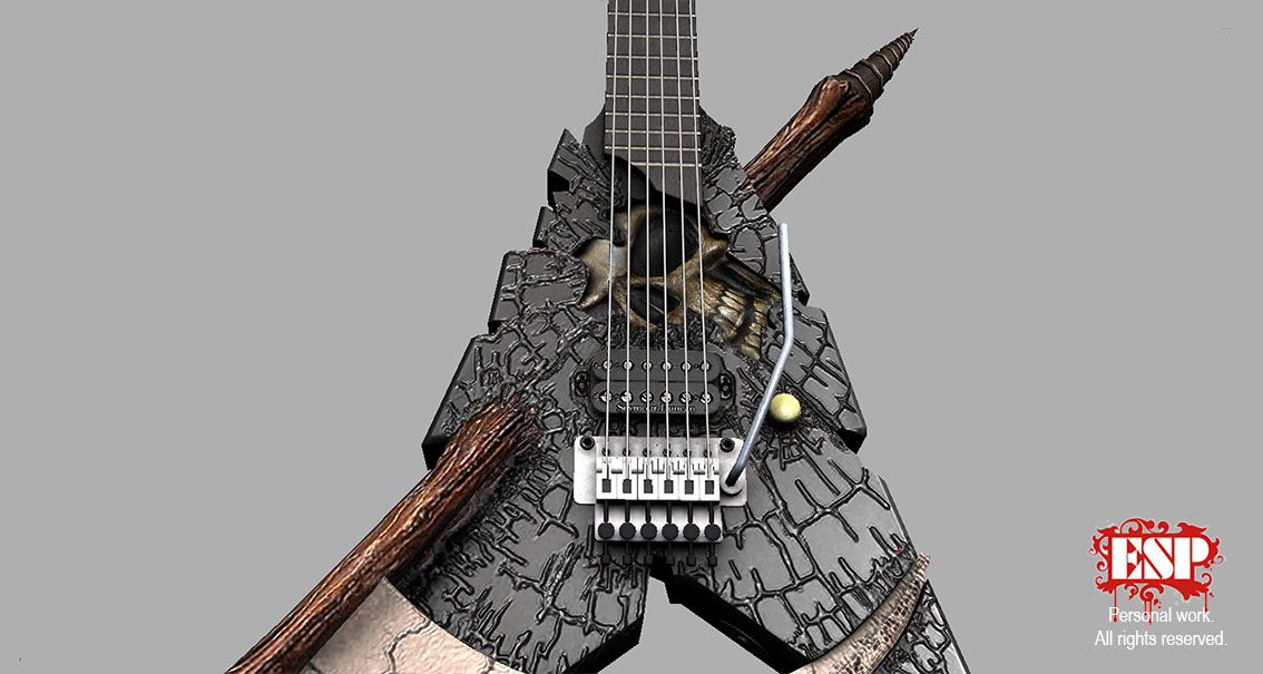 ESP Shinigami Guitar 03 By Anotheryou00