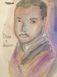 Happy MLK day!! by mfMarLei