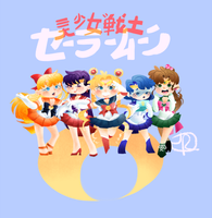 Sailor Moon WIP by JuniiPoo