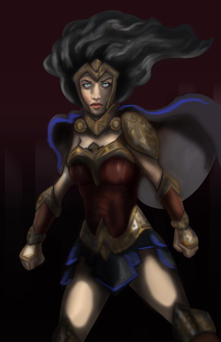 Wonder Woman by javiermontesinos18