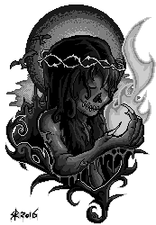 Ghoul (Greyscale) by SketchXReed