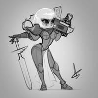 Sister of Battle Sketch