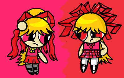Berserk and Moriko by PoweredButtercup10