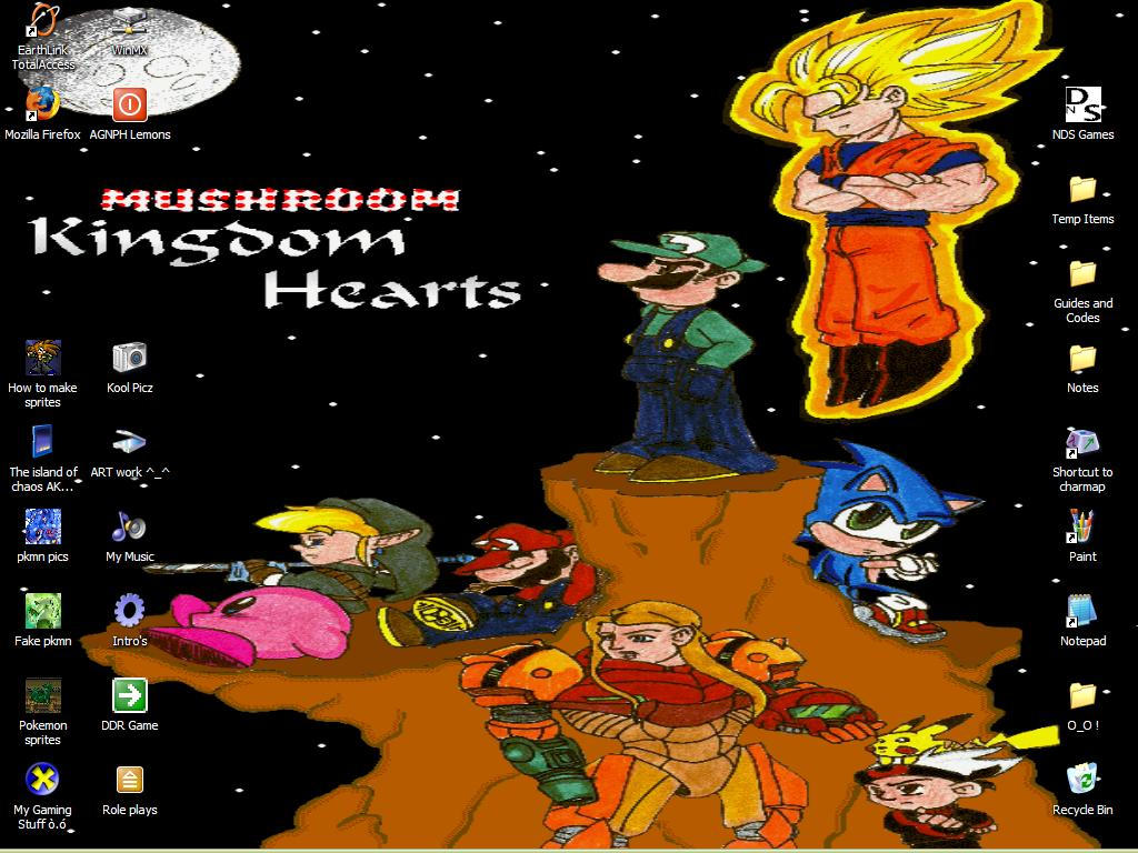 Mushroom Kingdom Hearts  n.n by Slash-The-hedgehog