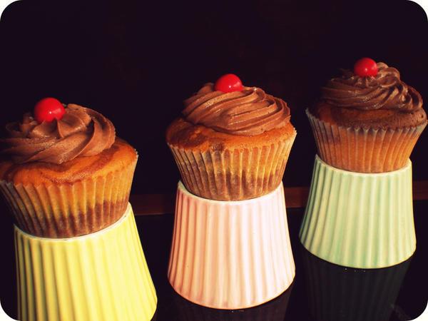 Jaffa Cupcakes by apparentlyjessy