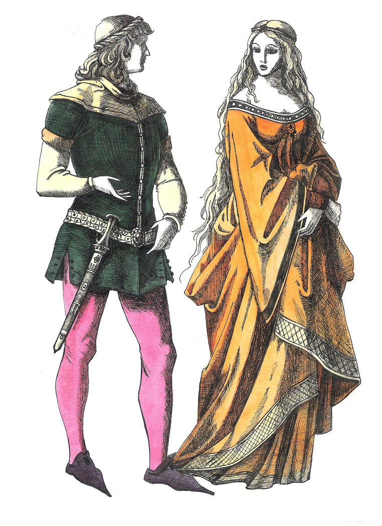 Вокруг и около РОКОКО : Модные платья 18 45