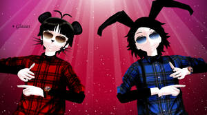 [MMD]Oswald and Mickey(+DL)UPDATE
