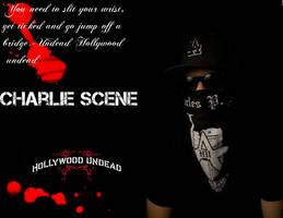 Charlie Scene Hollywood Undead by Theunseenreaper