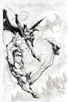 Batman and Robin by FreddieEWilliamsii