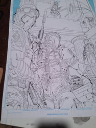 G.I Joe #14 Cover WIP 4 by FreddieEWilliamsii