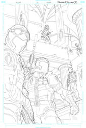G.I Joe #14 Cover WIP 3 by FreddieEWilliamsii
