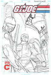 G.I Joe #14 Cover WIP 2 by FreddieEWilliamsii