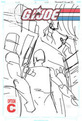 G.I Joe #14 Cover WIP 1 by FreddieEWilliamsii