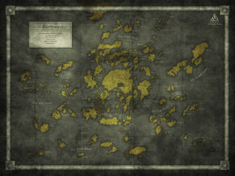 A Fan Map: Earthsea by Kellerica