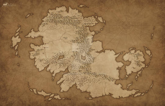 Commission: Continent of Zorina