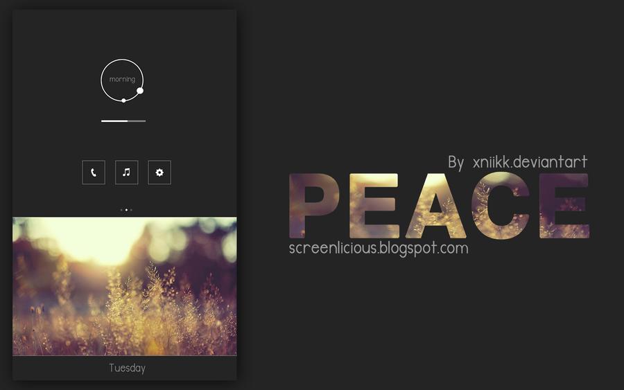 PEACE by xNiikk