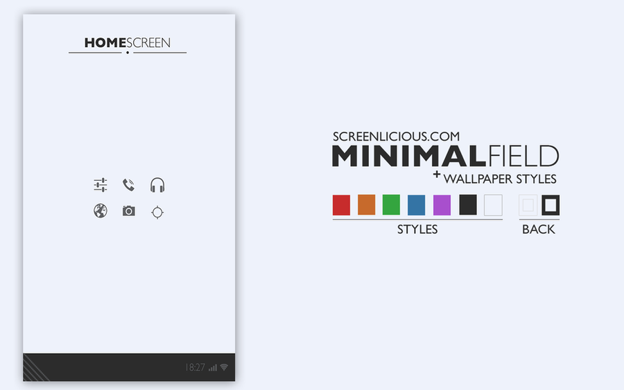 MINIMALFIELD by xNiikk