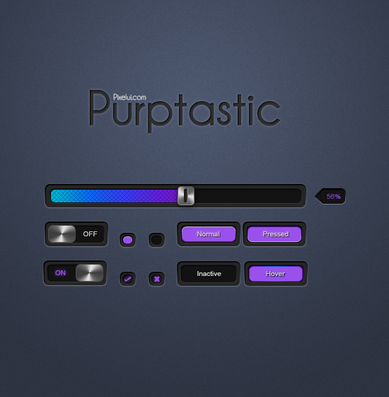 Purptastic by xNiikk