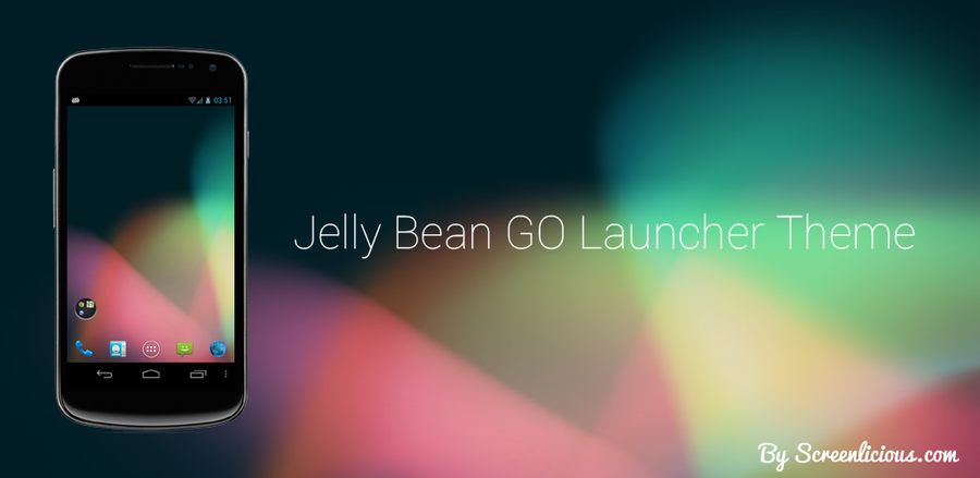 Jelly Bean Go Launcher Theme by xNiikk