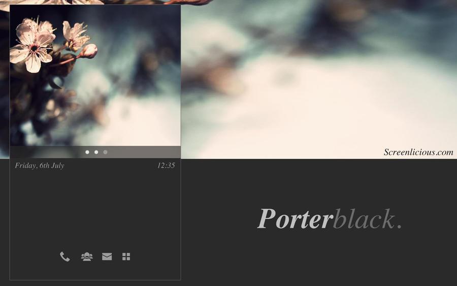 PORTERBLACK. by xNiikk