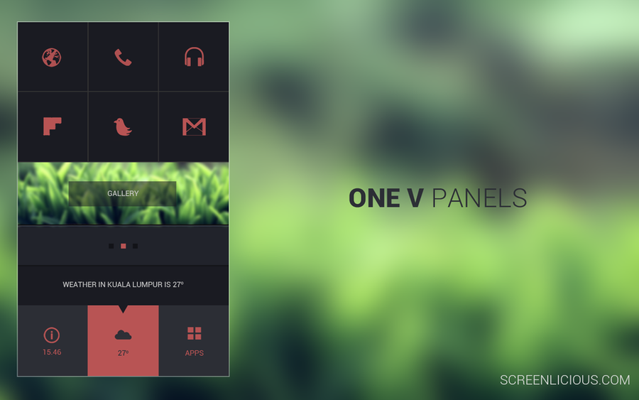 One V Panels by xNiikk
