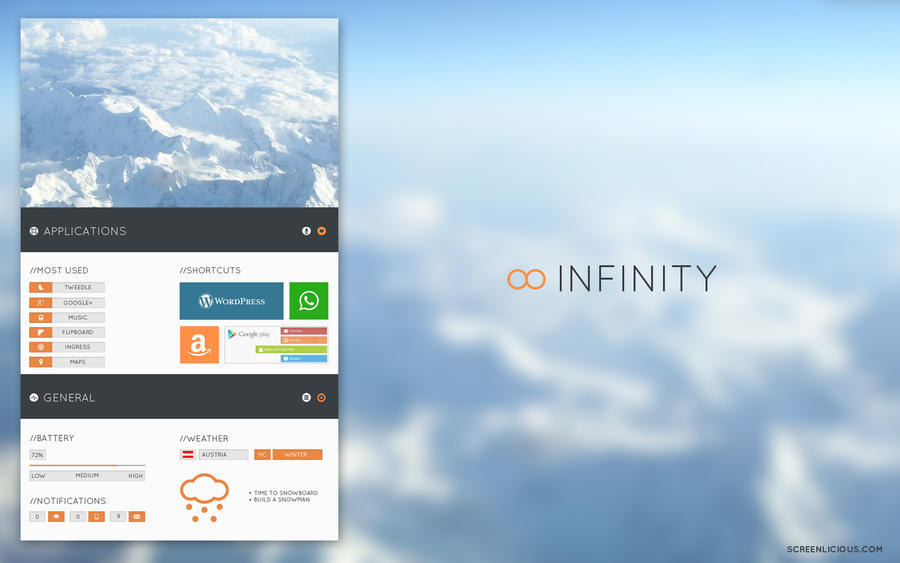 Infinity by xNiikk