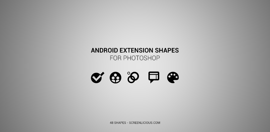 Android Extension Shapes by xNiikk