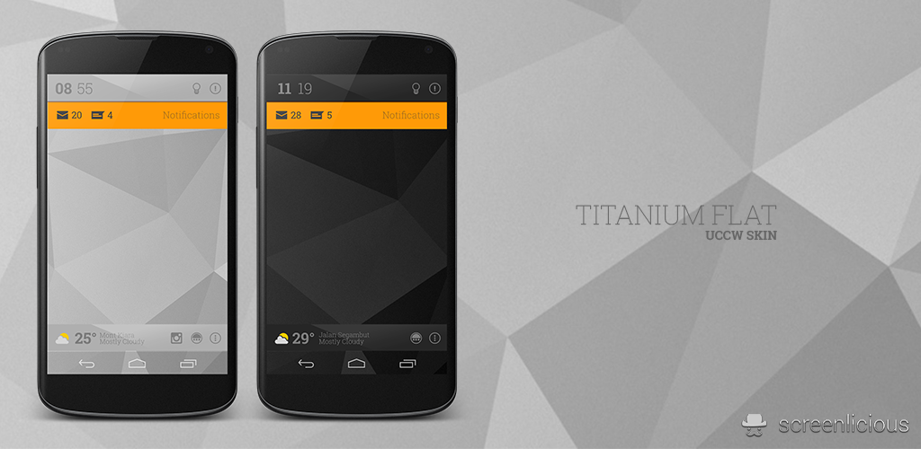 Titanium Flat UCCW Skin by xNiikk