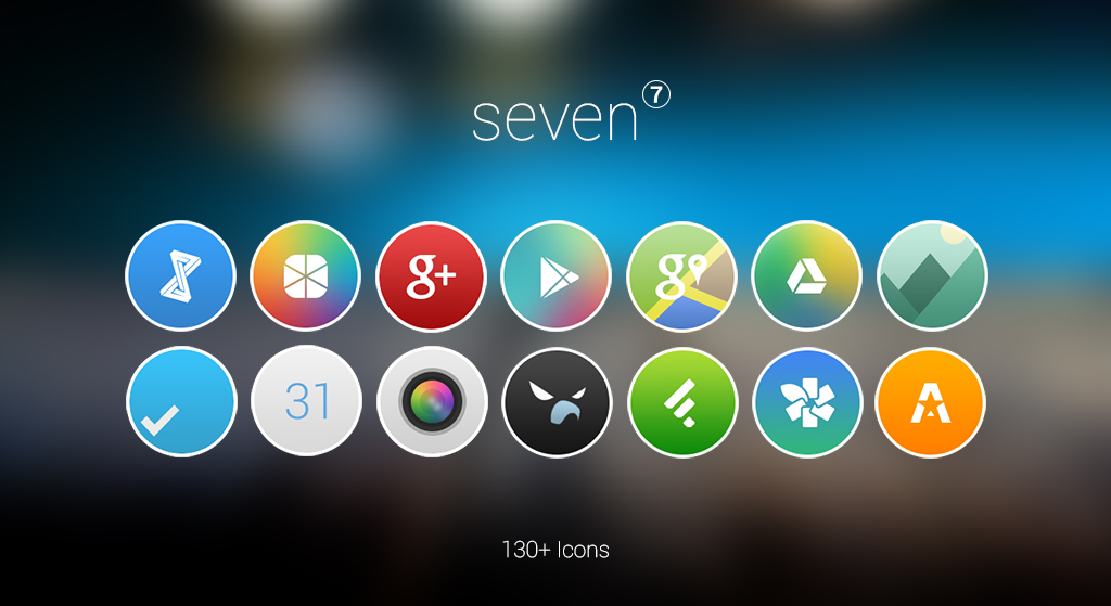 Seven - Apex / Nova Icon Pack by xNiikk