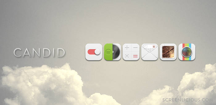 CANDID ICON PACK - FREE