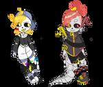 [closed] Grrrls skeletons