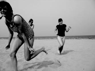 Beach Girls by bwclub
