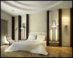 Cozy Bedroom by surono