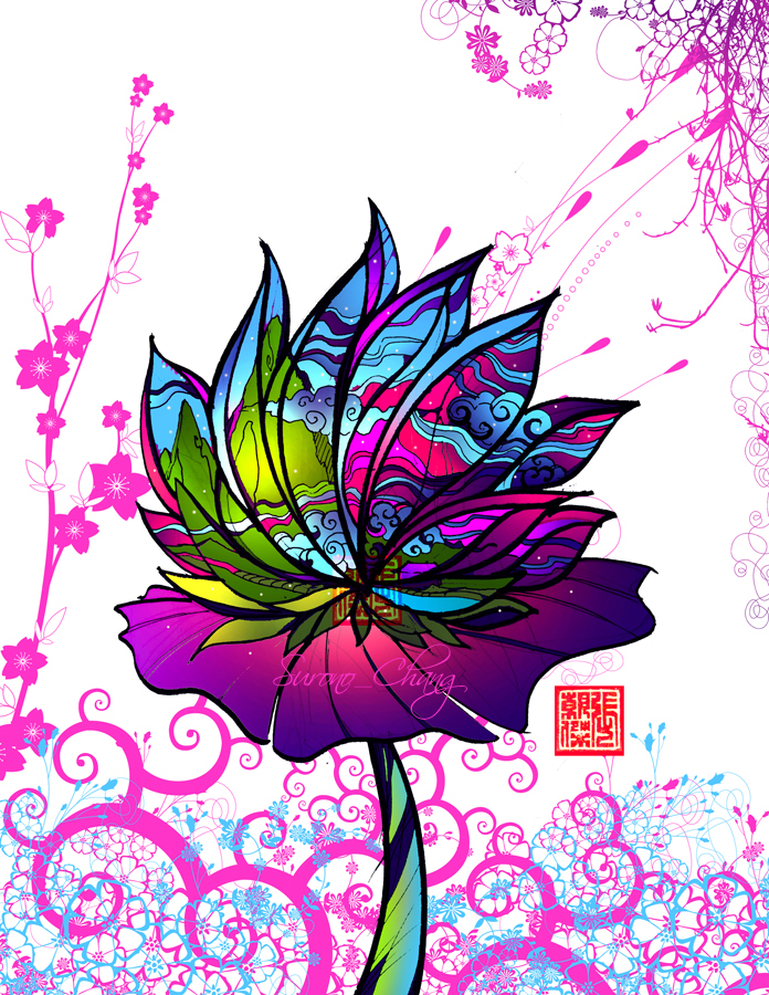 SPRING TIME LOTUS by surono