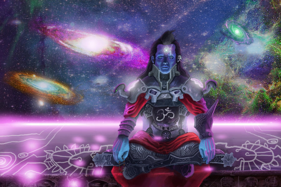 psychedelic shiva the destroyer