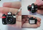 Polymer Clay Nikon DSLR Camera