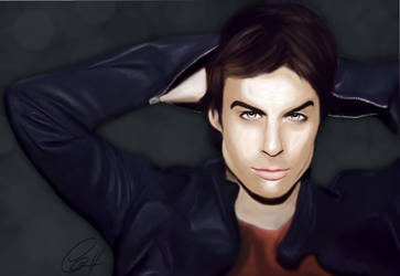 Ian Somerhalder by CherylDakota