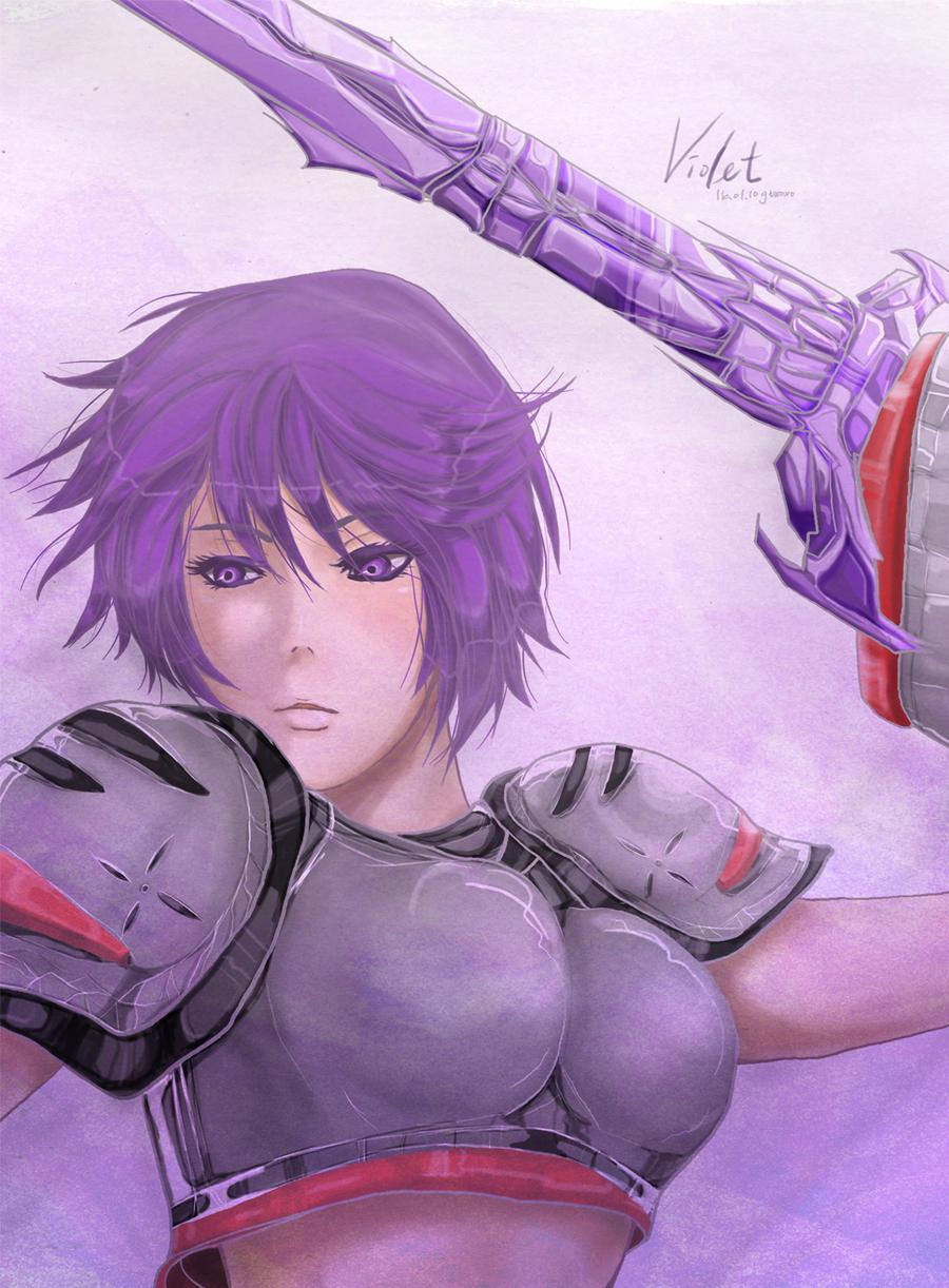 OC: Violet by gtxoxo