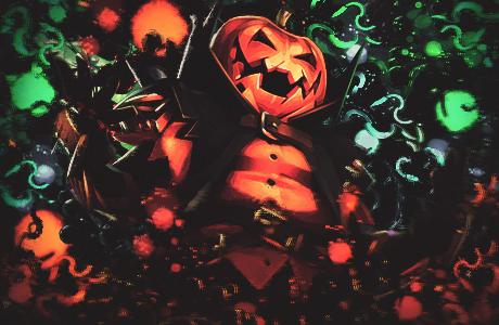 Hollow Pumpkin by HyperionIDG