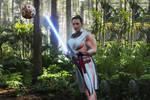 Muscular Rey Star Wars