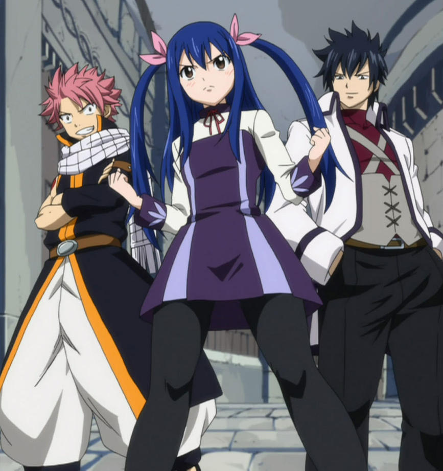 Wendy Marvell natsu Dragneel and Gray Fullbuster by ...