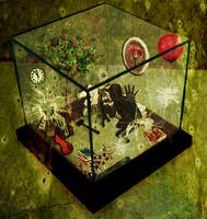 Inside the glass-box by InfinityOneironaut
